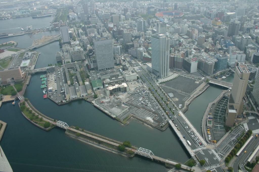 Вид из башен, Япония, 2008