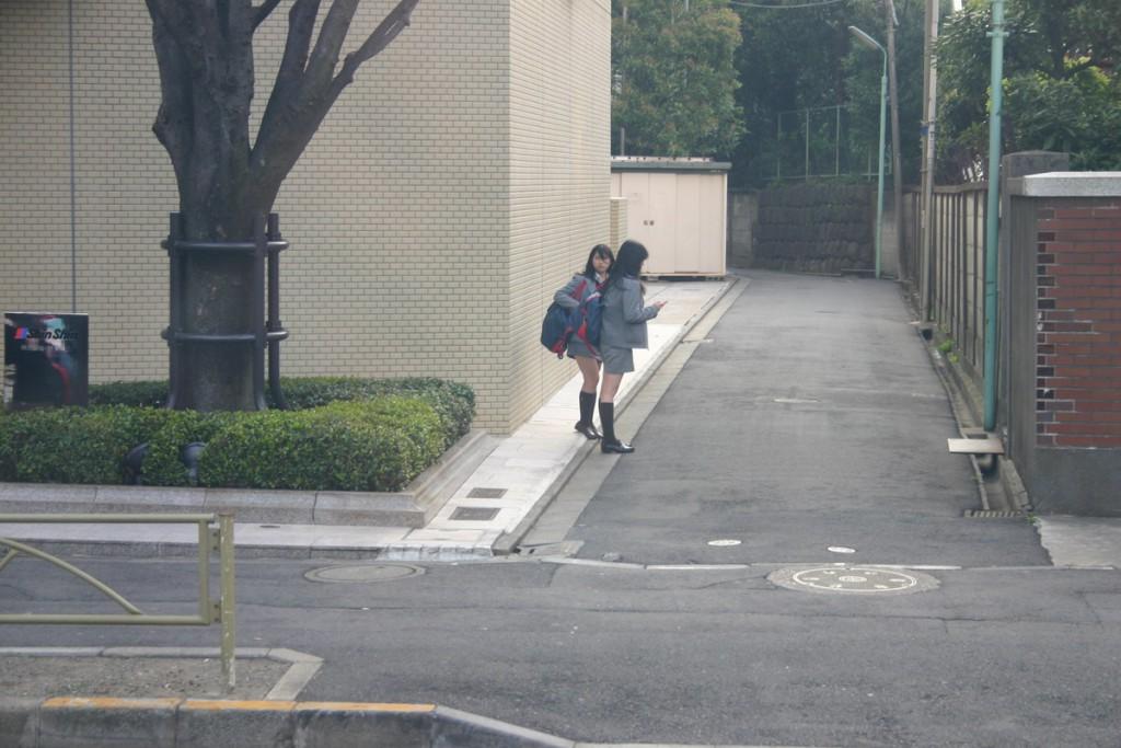 Школьницы, Япония 2008