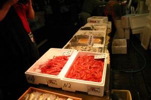 Рыбный рынок в Токио, Япония 2008