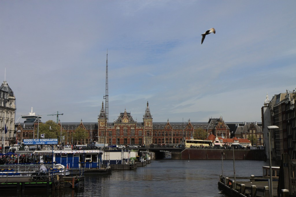 Вокзал Амстердама