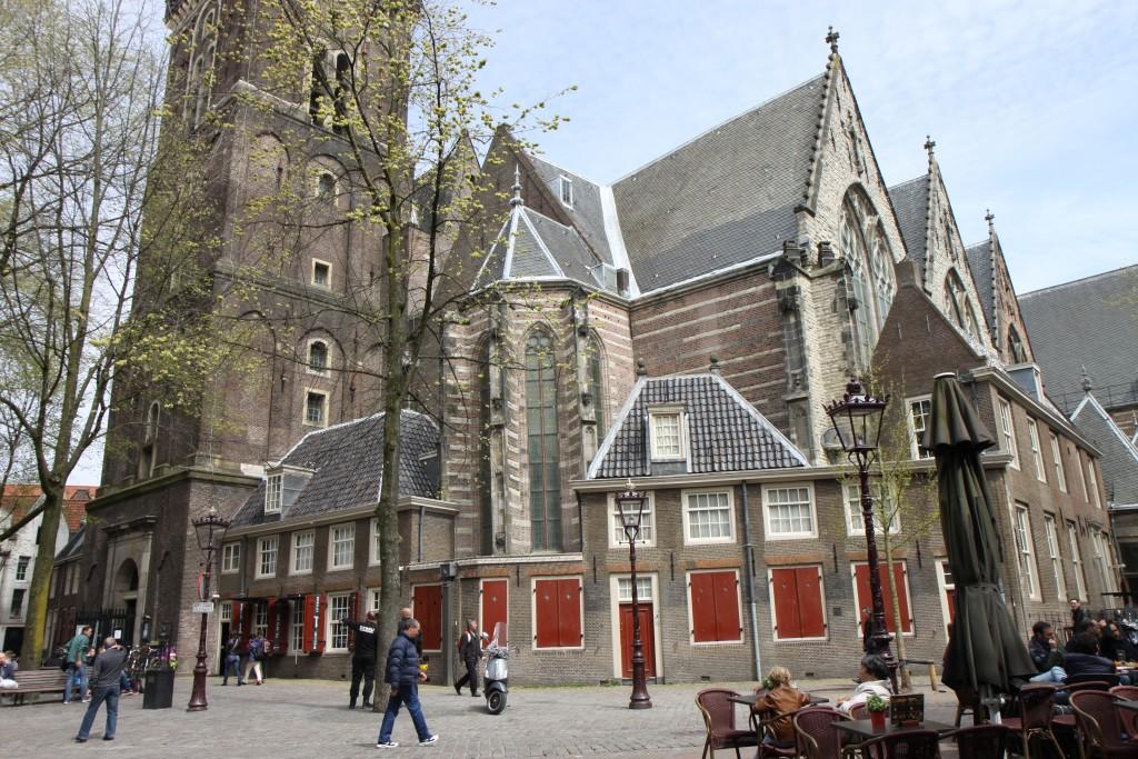 Старая церковь. Амстердам.