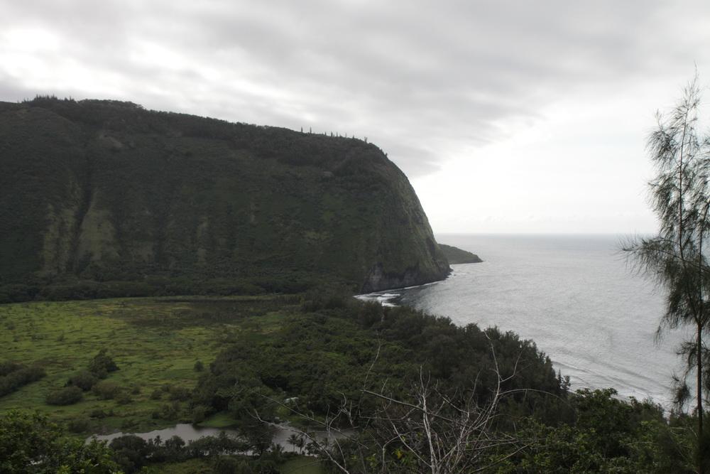 Затерянная долина. Waiopi Valley Hawaii.