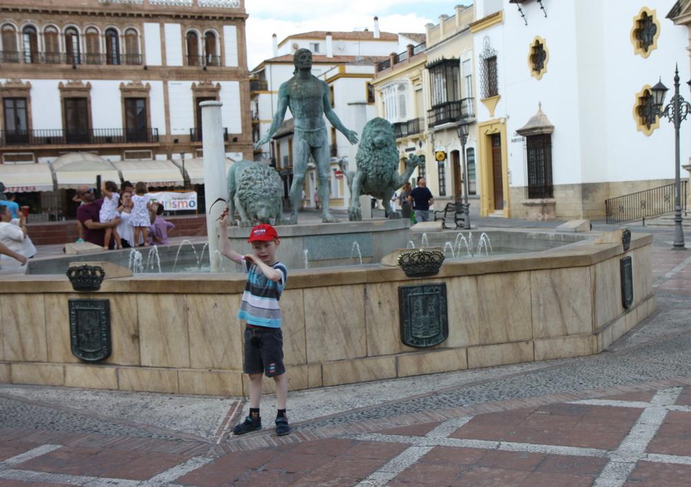 Площадь перед собором в Новом городе, Ронда, Испания