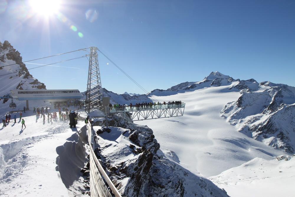Зельден Альпы Австрия