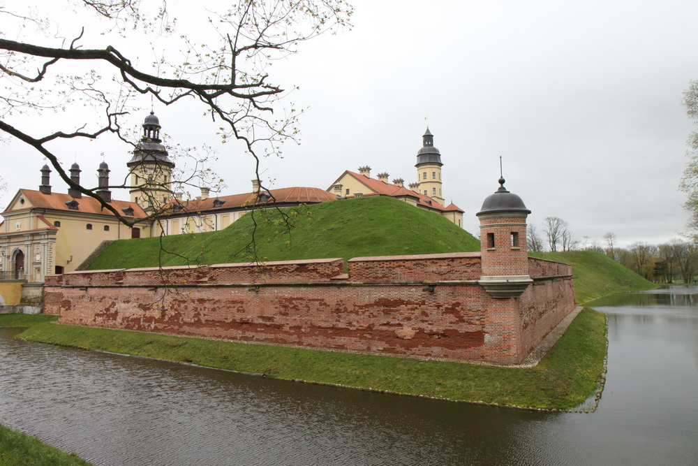 Несвижский замок, средневековый замок Радзивилов, Несвиж, Белоруссия