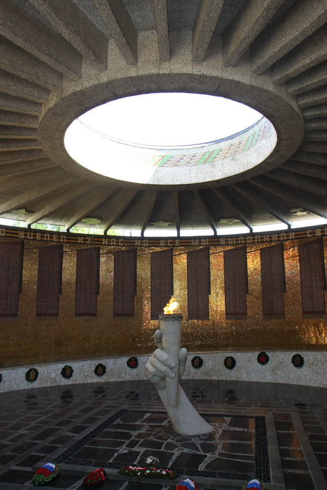 Волгоград, Зал Славы, Мамаев курган