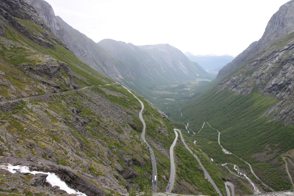 Норвегия. Дорога Троллей. Norway. Trollstiegen
