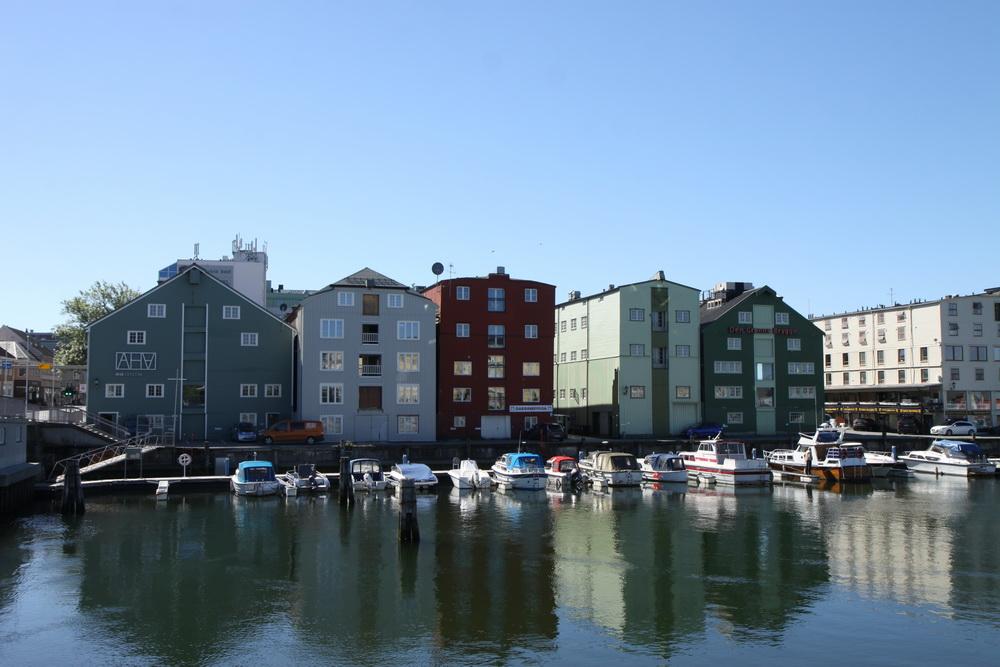 Норвегия. Тронхейм. Norway. Tronheim