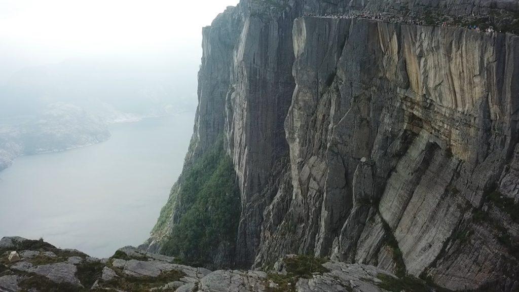 Норвегия. Norway. Кафедра проповедника. Preikestolen