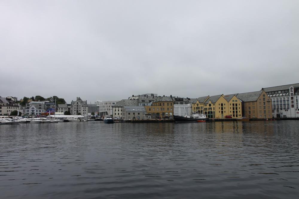 Норвегия. Norway. Олесунн. Ålesund