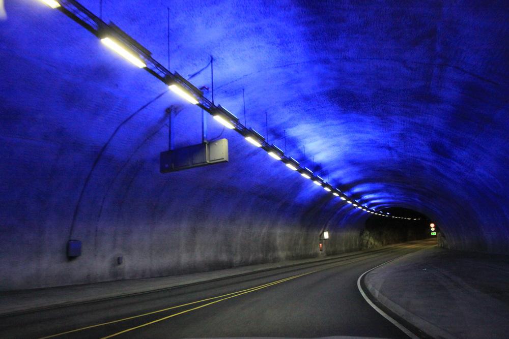 Норвегия. Norway. Дороги и туннели. Tunnels